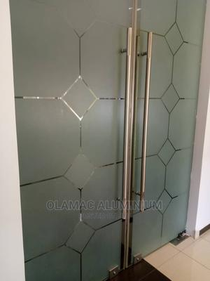 Frameless Swing Glass Door   Doors for sale in Rivers State, Port-Harcourt