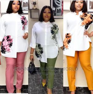 Elegant Trendy Female Quality 2 Piece Trouser and Top   Clothing for sale in Lagos State, Ikeja