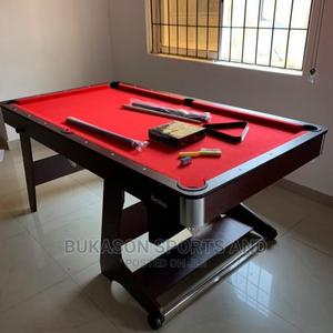 Foldable 6ft Snooker Table   Sports Equipment for sale in Lagos State, Ajah