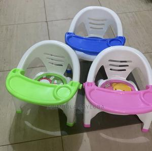 Children Plastic Chair With Attached Table   Children's Furniture for sale in Oyo State, Ibadan