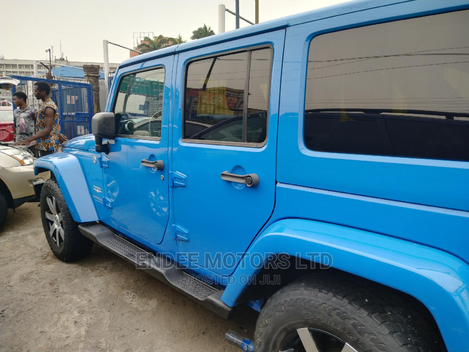 Jeep Wrangler 2013 Unlimited Sahara Blue | Cars for sale in Ikeja, Lagos State, Nigeria