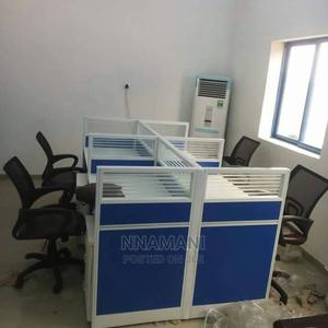 Four Men Workstation | Furniture for sale in Lagos State, Ojo