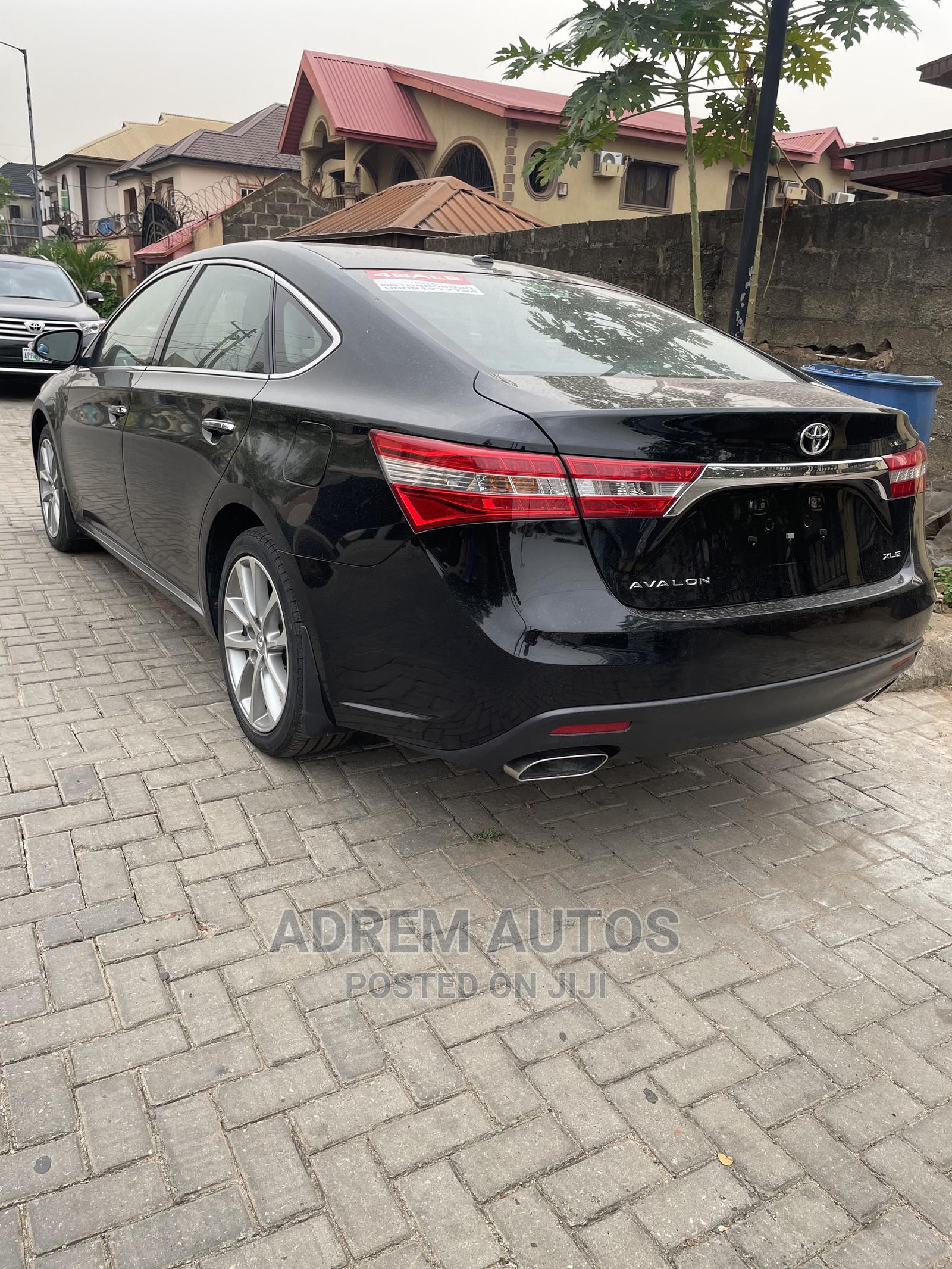 Toyota Avalon 2015 Black   Cars for sale in Ikeja, Lagos State, Nigeria