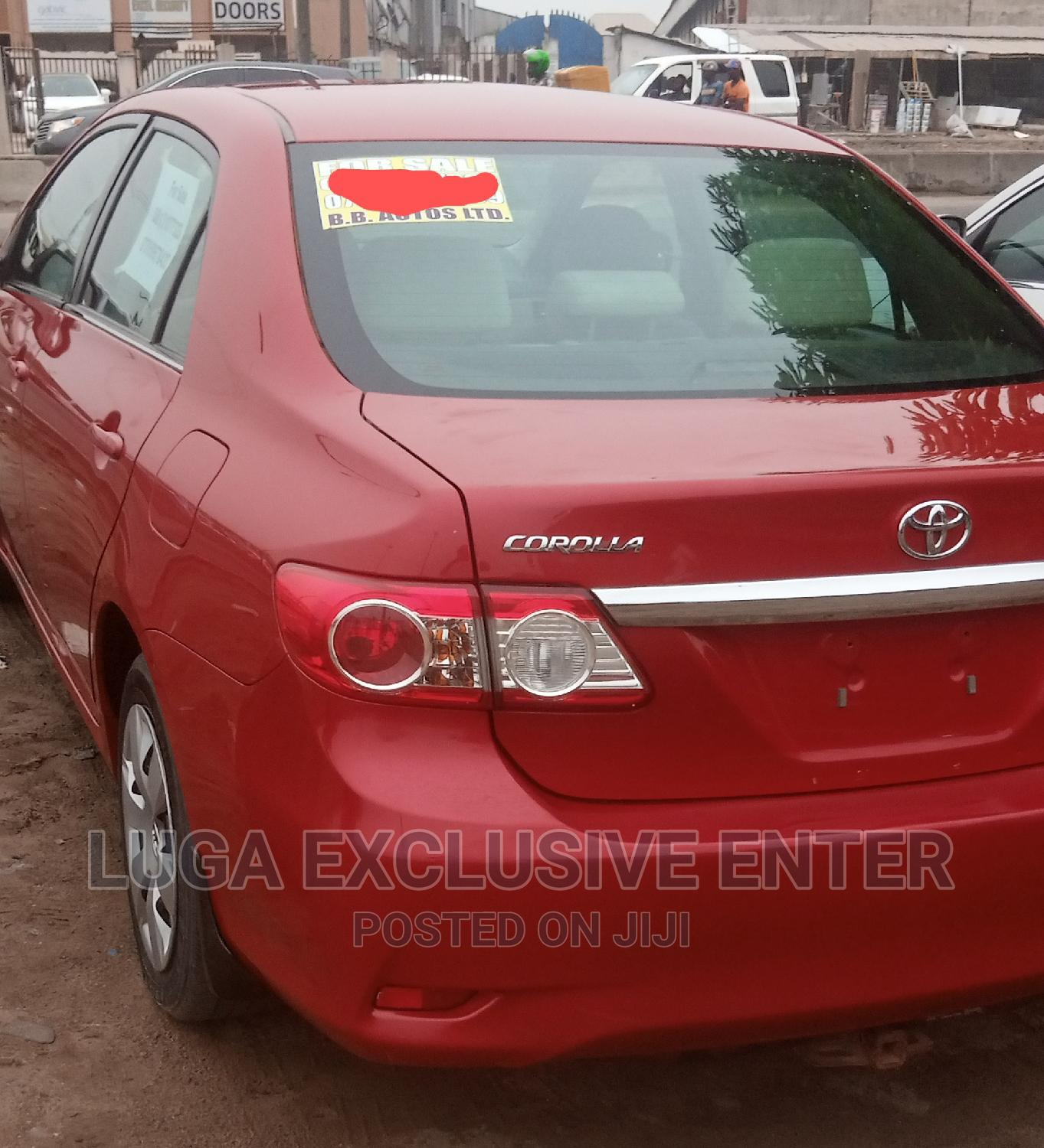 Toyota Corolla 2013 Red | Cars for sale in Ajah, Lagos State, Nigeria