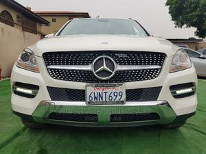 Mercedes-Benz M Class 2012 ML 350 4Matic White | Cars for sale in Lagos State, Ikeja