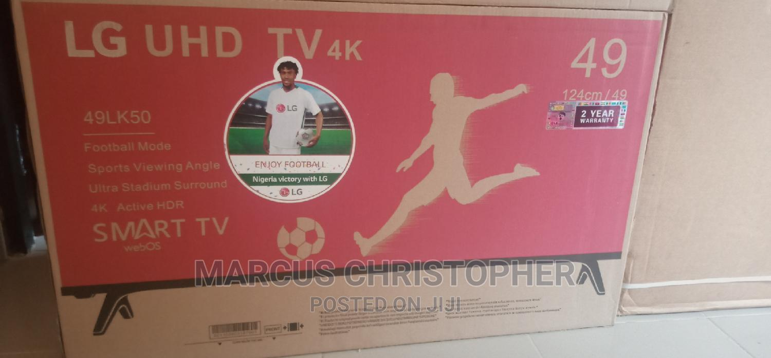 Archive: Promo on Lg49inches Smart Tv With 2 Years Warranty