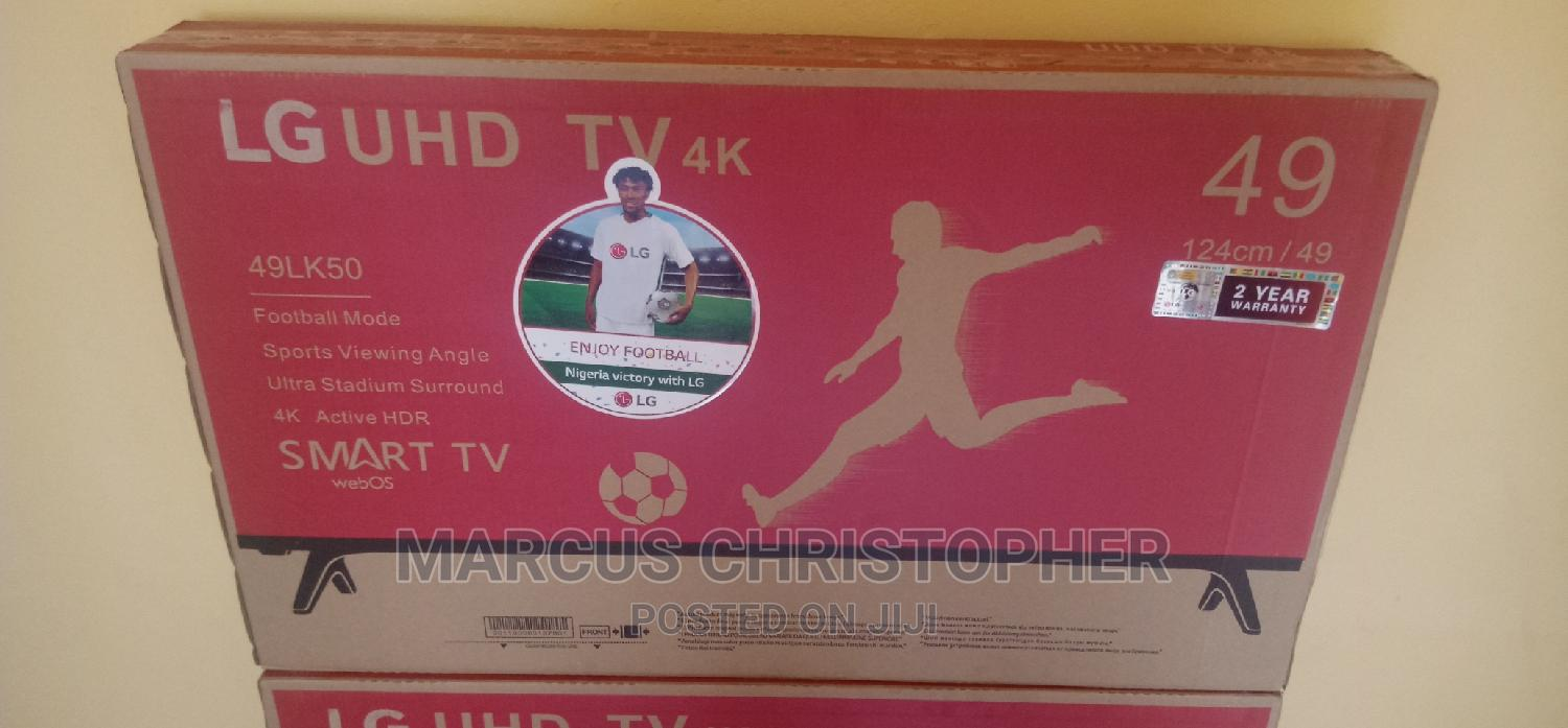 Archive: Promo on LG 49inches Smart TV With 2 Years Warranty