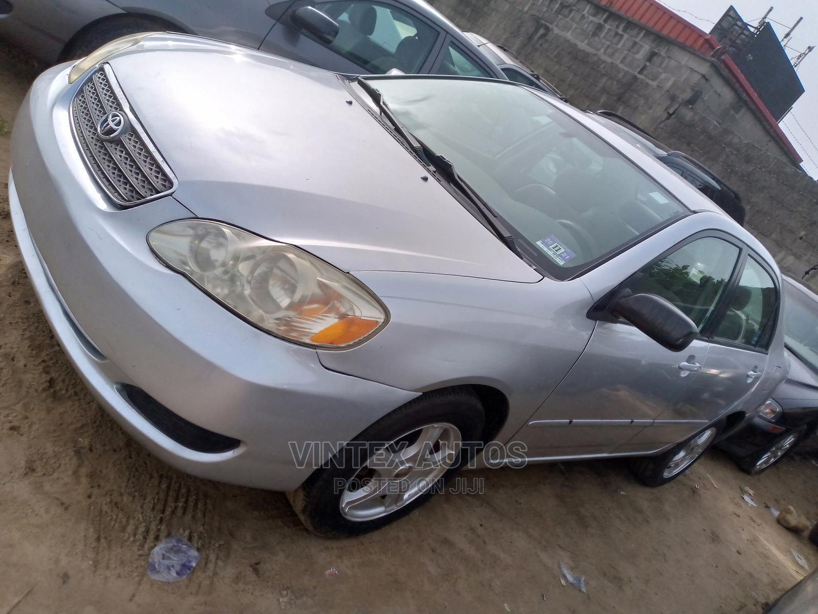 Archive: Toyota Corolla 2005 LE Silver