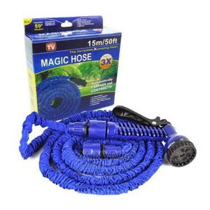 Expandable Magic Hose Spray Nozzle Long Hose Size (50ft) | Garden for sale in Lagos State, Alimosho