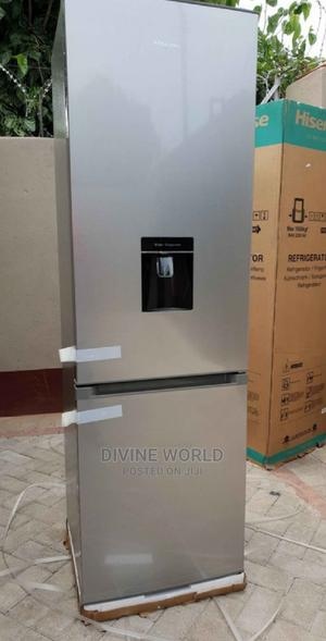 Hisense 262L Double Door Fridge Bottom Freezer Wit Dispenser | Kitchen Appliances for sale in Lagos State, Ojo