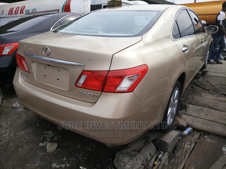 Archive: Lexus ES 2008 350 Gold