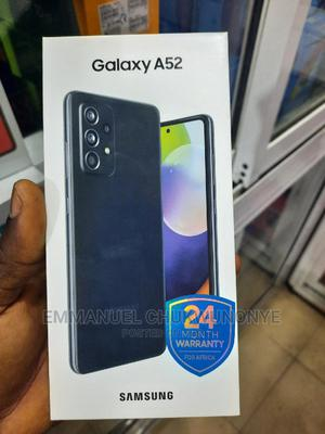 New Samsung Galaxy A52 128 GB Black   Mobile Phones for sale in Lagos State, Ikeja