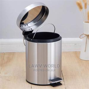 Stainless Steel Pedal Bin | Home Accessories for sale in Lagos State, Lagos Island (Eko)