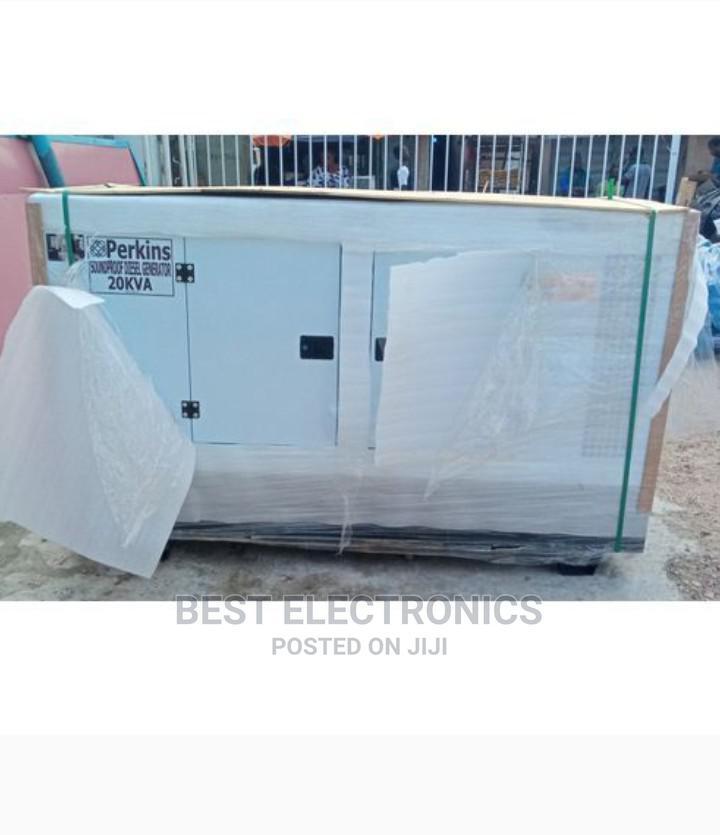 Perkins Soundproof Generator 20kva