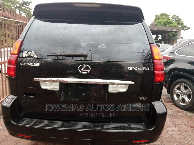 Lexus GX 2005 470 Sport Utility Black   Cars for sale in Amuwo-Odofin, Lagos State, Nigeria