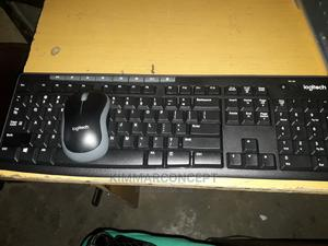 Logitech Wireless Keyboard and Mouse   Computer Accessories  for sale in Lagos State, Ikeja