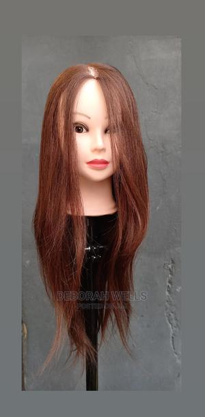 Mannequin Head With Human Hair | Hair Beauty for sale in Lagos State, Yaba