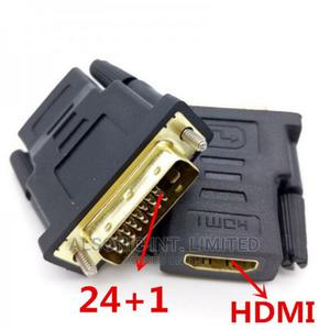 DVI to HDMI Gold Plated 1080P Male to Female Adapter DVI 24+   Computer Accessories  for sale in Abuja (FCT) State, Wuse