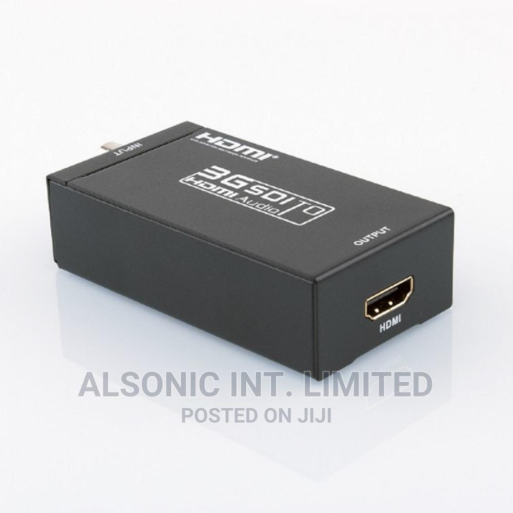 SDI to HDMI Converter Adapter Mini 3G HD Sdi Hdmi Adapter Fo | Computer Accessories  for sale in Wuse, Abuja (FCT) State, Nigeria