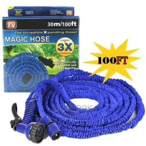 Expandable Magic Hose Spray Nozzle Long Hose Size (100ft) | Garden for sale in Lagos State, Alimosho