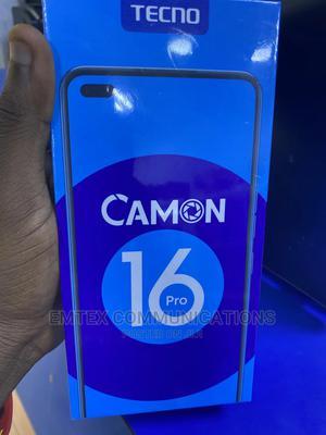 New Tecno Camon 16 Pro 128 GB Black | Mobile Phones for sale in Lagos State, Ikeja