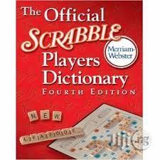 Merriam Webster Official Scrabble Players Dictionary 4th Edition | Books & Games for sale in Lagos State