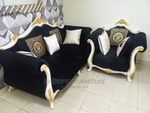 High Quality 7 Seater Set of Royal Sofa Chair | Furniture for sale in Lagos State, Ojo