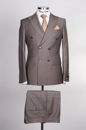 Brown Turkey Double Breasted Suit   Clothing for sale in Lagos State, Lagos Island (Eko)