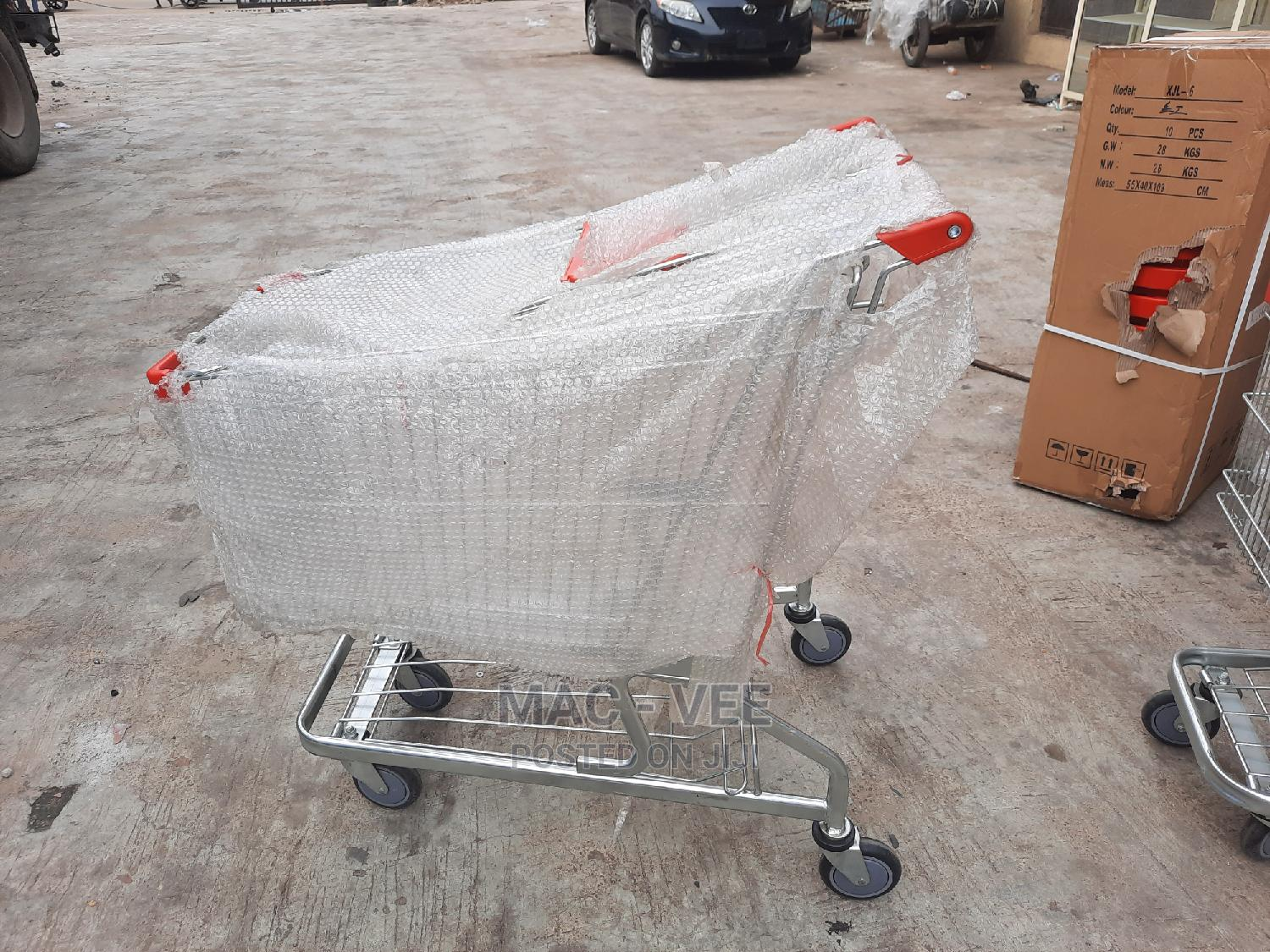 Archive: Super Market Trolley 220liters Available