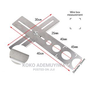 Stainless Steel Ceramic Tile Hole Locator Drilling Guide | Measuring & Layout Tools for sale in Abuja (FCT) State, Central Business District