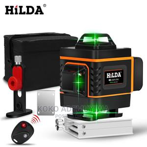 HILDA 16 Lines 4D Green Laser Level Level Self-Leveling | Measuring & Layout Tools for sale in Abuja (FCT) State, Central Business District