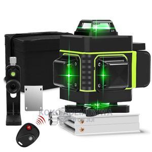 HILDA 16 Lines 4D Green Laser Level +Tripod +Adjust Bracket | Measuring & Layout Tools for sale in Abuja (FCT) State, Central Business District