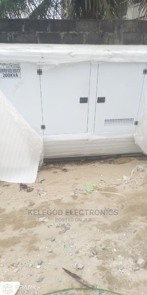 200kva Soundproof Diesel Generator | Electrical Equipment for sale in Ogun State, Ado-Odo/Ota