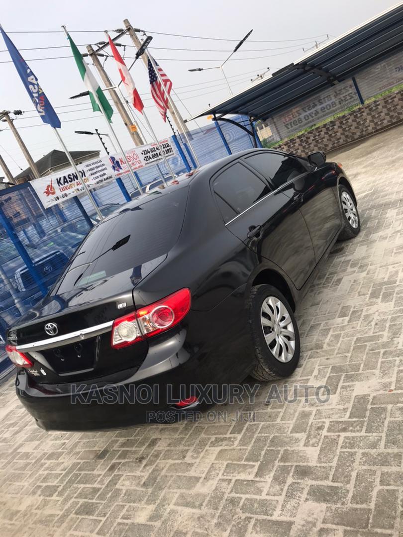 Toyota Corolla 2013 Black | Cars for sale in Ajah, Lagos State, Nigeria