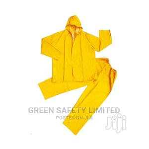Shirt and Trouser PVC Raincoat With Reflective Yellow | Clothing for sale in Lagos State, Ikeja