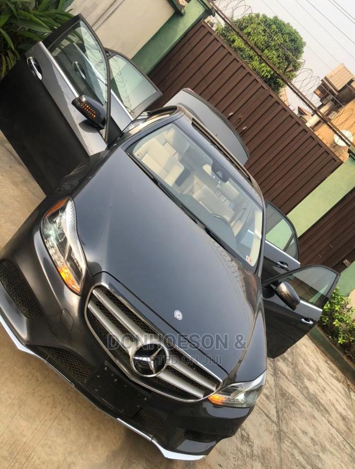 Archive: Mercedes-Benz E350 2014 Black