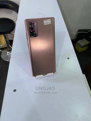 Samsung Galaxy Note 20 256 GB Gold   Mobile Phones for sale in Abuja (FCT) State, Wuse 2