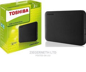 Toshiba 2TB USB 3.0 Portable External Hard Drive | Computer Hardware for sale in Lagos State, Ikeja