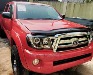 Toyota Tacoma 2007 PreRunner Access Red | Cars for sale in Lagos State, Amuwo-Odofin