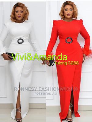 Elegant Trendy Female Quality Fitted Long Gown | Clothing for sale in Lagos State, Ikeja