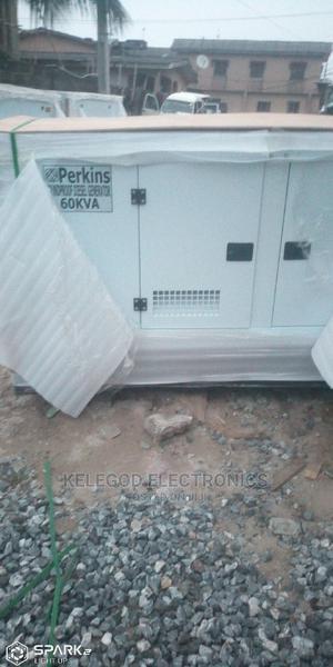 Original Perkins Soundproof 60kva | Electrical Equipment for sale in Ogun State, Sagamu