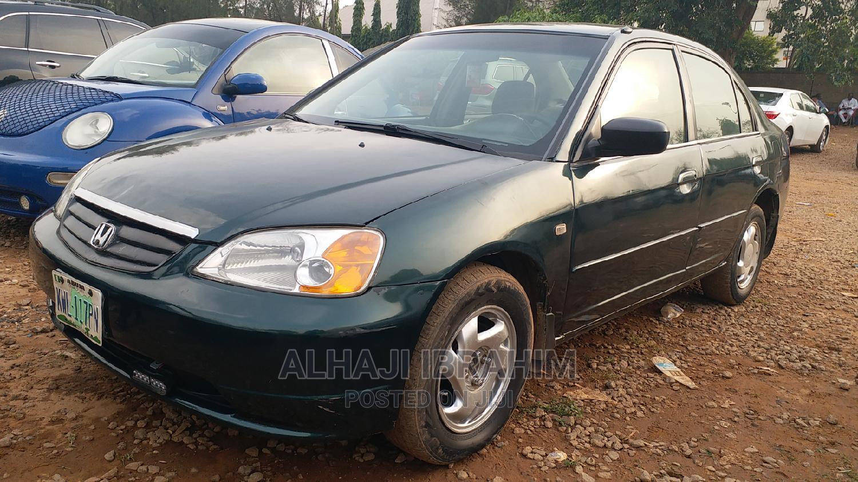 Honda Civic 2003 Green