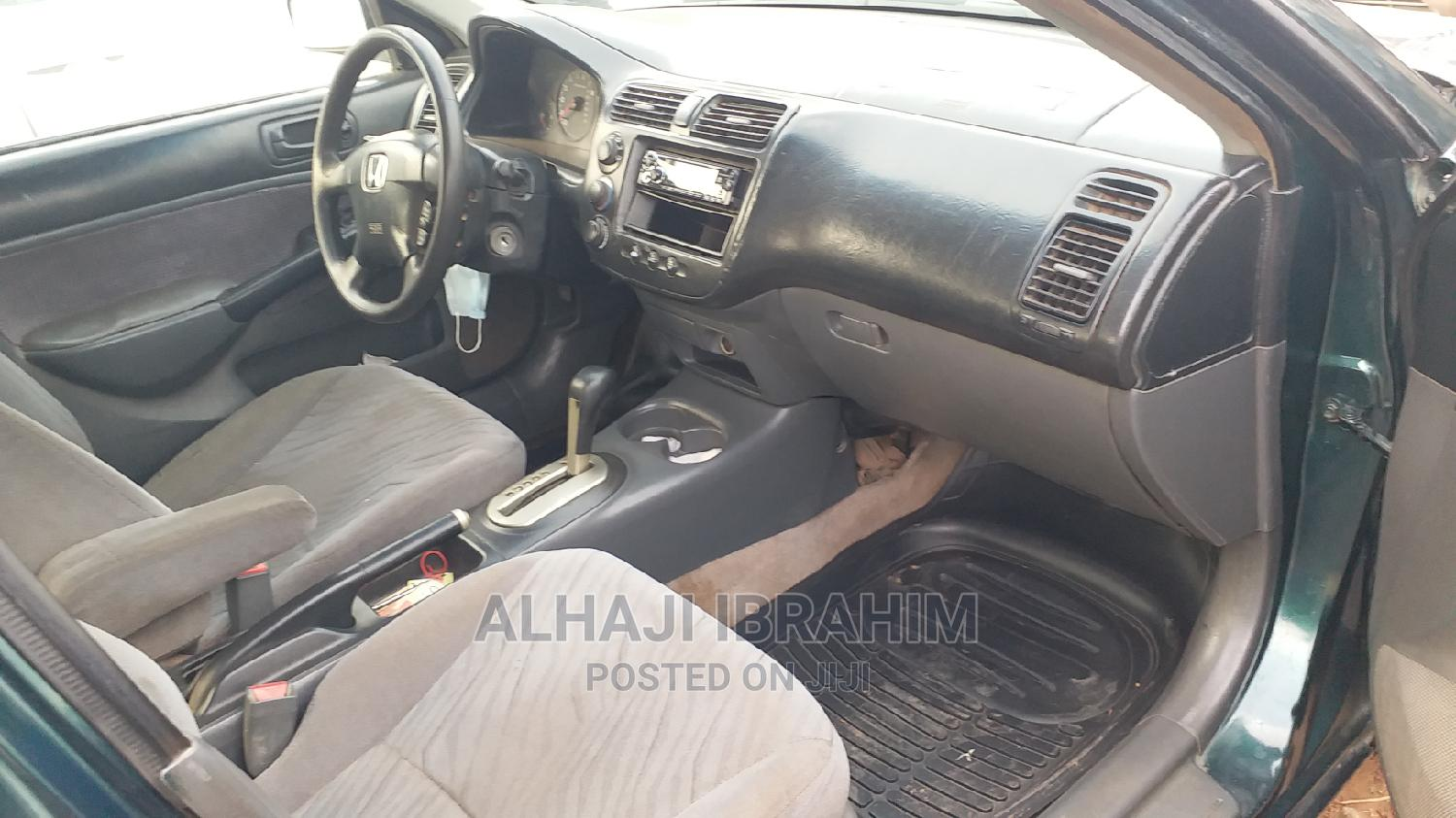 Honda Civic 2003 Green | Cars for sale in Central Business District, Abuja (FCT) State, Nigeria
