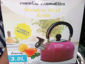 3 Litre Whistling Kettle | Kitchen Appliances for sale in Lagos State, Lagos Island (Eko)