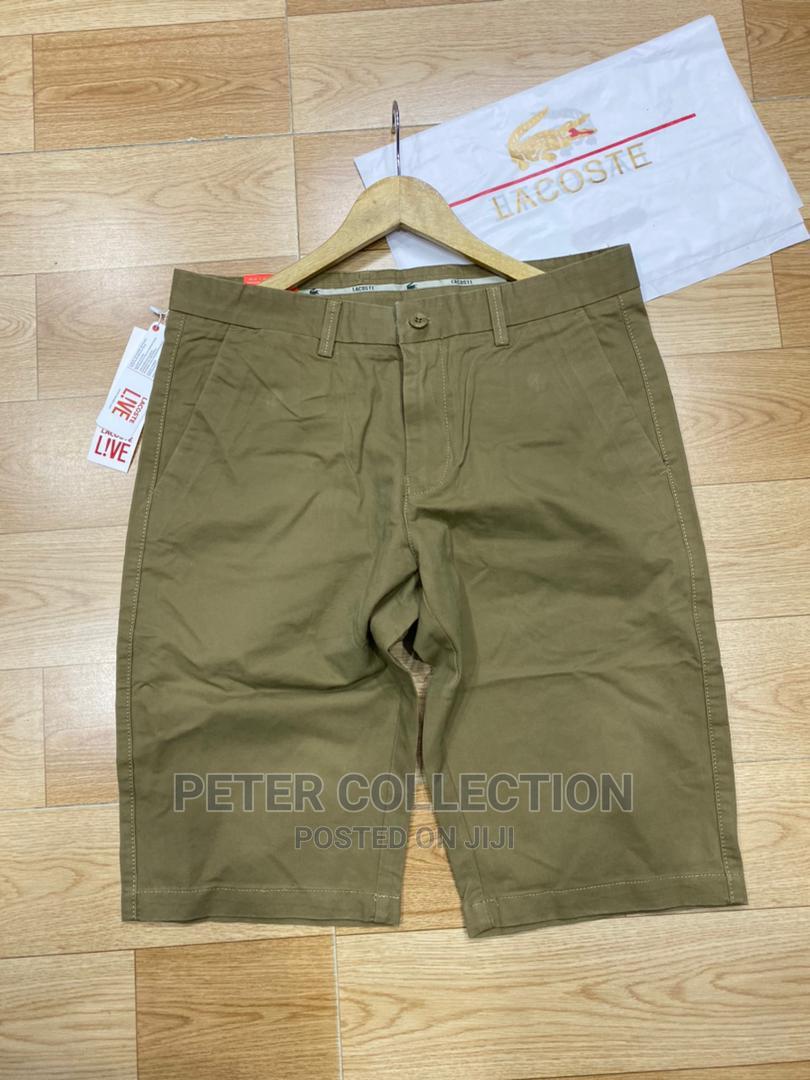 Classic Lacoste White Short | Clothing for sale in Lagos Island (Eko), Lagos State, Nigeria