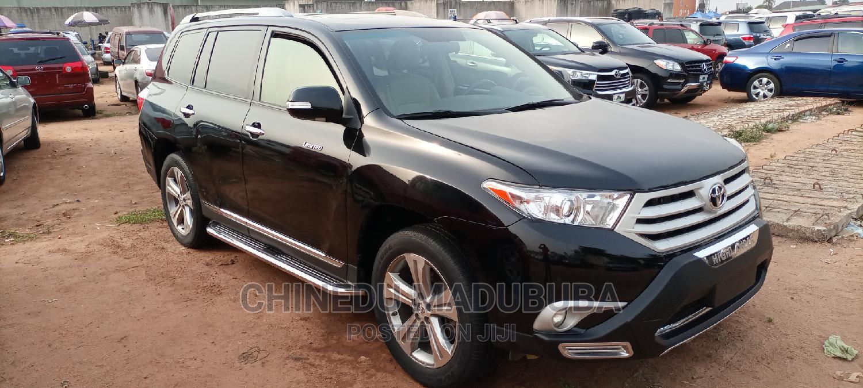 Toyota Highlander 2013 Limited 3.5l 4WD Black