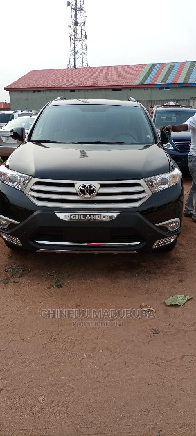 Toyota Highlander 2013 Limited 3.5l 4WD Black | Cars for sale in Owerri, Imo State, Nigeria