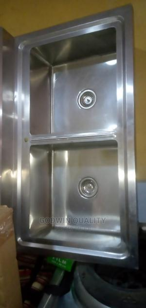 Double Sink With Stand | Restaurant & Catering Equipment for sale in Lagos State, Ojo