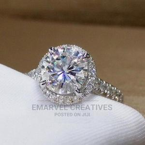 Engagement Ring - Classic Silver Proposal Wedding Band   Wedding Wear & Accessories for sale in Lagos State, Surulere