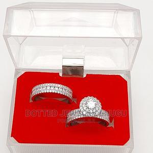 Gorgeous Zirconia Engagement Rings Silver   Wedding Wear & Accessories for sale in Enugu State, Enugu